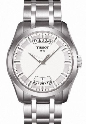 TISSOT Couturier Men's Silver Automatic Watch T035.407.11.031.00 39mm