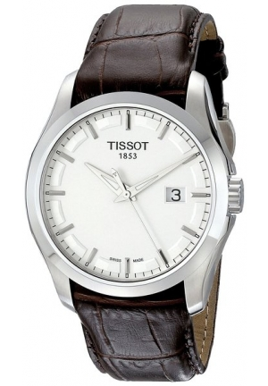 Tissot Men's Couturier Watch  Leather T035.410.16.031.00 39mm