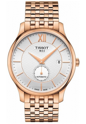 Tissot T-Classic Tradition Automatic Rose Gold 40mm
