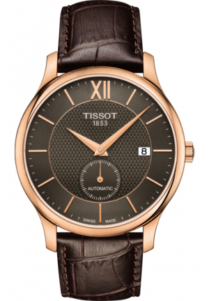 Tissot Tradition Anthracite Dial Automatic Men's Watch T063.428.36.068.00