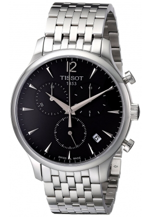Tissot Men's Silver Tradition Watch T0636171106700 42mm
