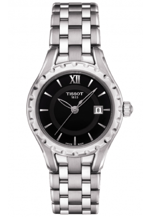 Tissot Lady Small Quartz with Black Dial with Stainless Steel Bracelet T072.010.11.058.00