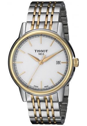 TISSOT Tissot Carson Two-tone Mens Watch T0854102201100, 40mm