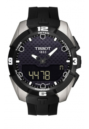 T-Touch Expert Solar Black Rubber Men's Watch