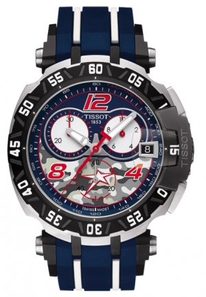 TISSOT T-RACE QUARTZ NICKY HAYDEN LIMITED EDITION 2016 T0924172705703, 45.25X47.2MM