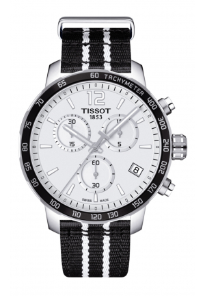 TISSOT QUICKSTER CHRONOGRAPH NBA SAN ANTONIO SPURS, 42MM