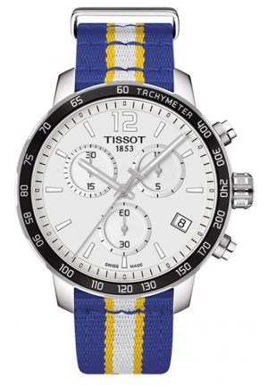 TISSOT GOLDEN STATE WARRIORS QUICKSTER QUARTZ CHRONOGRAPH T0954171703715