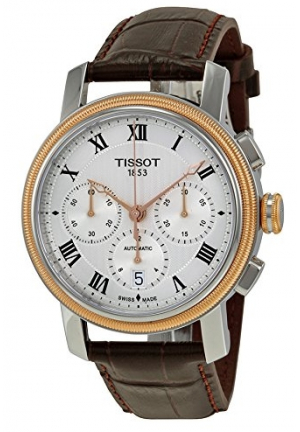 TISSOT BRIDGEPORT AUTOMATIC CHRONOGRAPH VALJOUX T0974272603300, 42MM