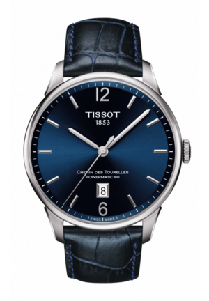 TISSOT CHEMIN DES TOURELLES POWERMATIC 80 , 42MM