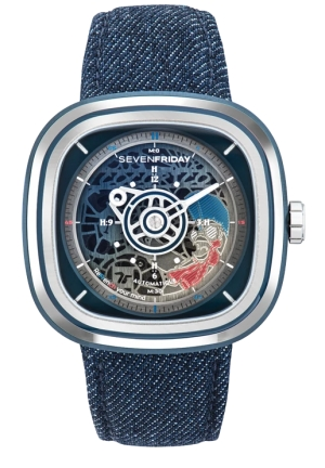 SEVENFRIDAY WATCH T1/01 COCORICO LIMITED EDITION