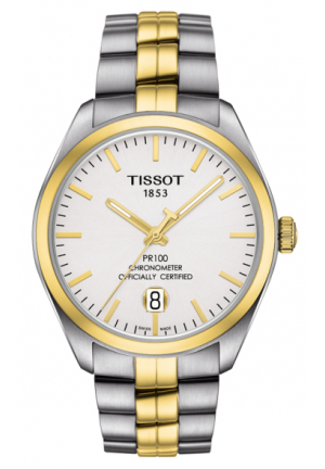 Tissot Men's PR 100 Powermatic COSC TwoTone