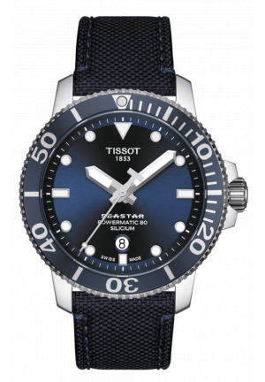 TISSOT SEASTAR 1000 POWERMATIC 80 SILICIUM 43MM