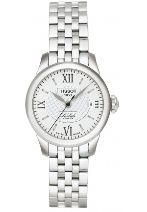 TISSOT LADIES' LE LOCLE AUTOMATIC WATCH T41118333