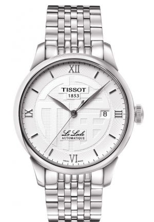 Tissot Men's  Le Locle Analog Display Swiss Automatic Silver Watch T41183350