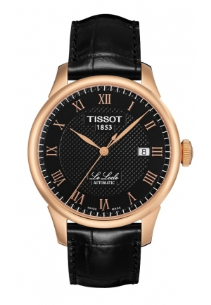 TISSOT Le Locle Men's Black PVD Automatic Classic Watch T41542353
