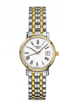 TISSOT T-Classic Desire Two-Tone Watch , T52228113 24mm
