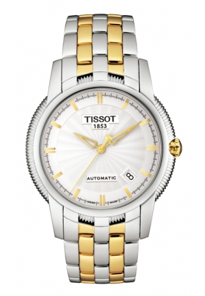 TISSOT Ballade III Men's Silver Automatic Classic Watch , T97248331 39.5mm