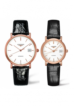 THE LONGINES ELEGANT COLLECTION L4.787.8.12.0-L4.378.8.12.0