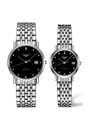 THE LONGINES ELEGANT COLLECTION L4.809.4.57.6-L4.309.4.57.6