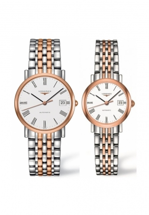 THE LONGINES ELEGANT COLLECTION L4.809.5.11.7-L4.309.5.11.7