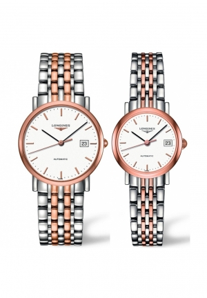 THE LONGINES ELEGANT COLLECTION L4.809.5.12.7-L4.309.5.12.7