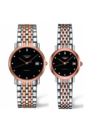 THE LONGINES ELEGANT COLLECTION L4.809.5.57.7-L4.309.5.57.7