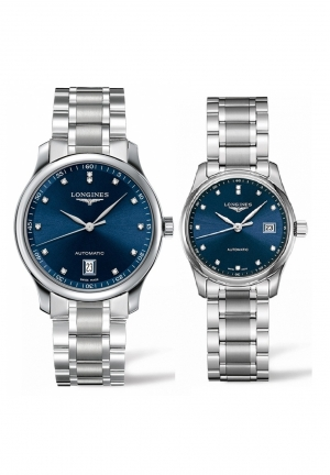 THE LONGINES MASTER COLLECTION L2.628.4.97.6-L2.257.4.97.6