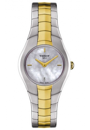 TISSOT LADY HEART POWERMATIC 80 ROSE GOLD CASE BROWN MOP DIAL WATCH T096.009.22.111.00 35mm