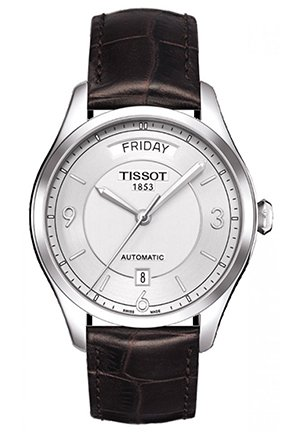 TISSOT Watch T One Mens - Silver Dial T0384301603700 38mm
