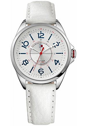 TOMMY HILFIGER Round Leather Strap Watch 36mm