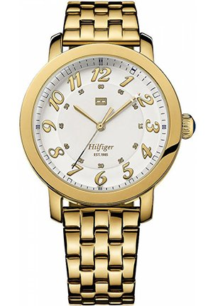 TOMMY HILFIGER Women's Gold-Tone Stainless Steel Bracelet 38mm