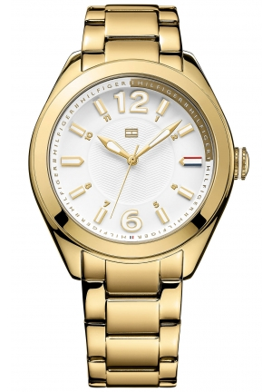 TOMMY HILFIGER Women's Gold-Tone Stainless Steel Bracelet 41mm