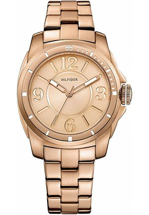 TOMMY HILFIGER Women's Rose Gold-Tone Stainless Steel Bracelet 38mm