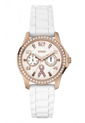 GUESS Breast Cancer Awareness Watch 36mm