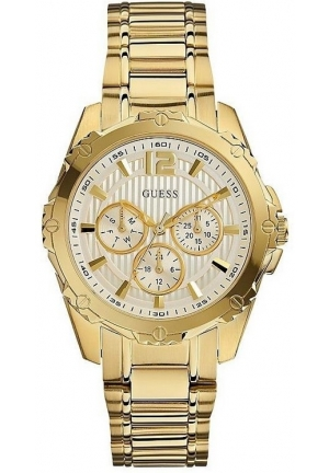 GUESS Women's Active Sport Gold-Tone Mid-Size Watch