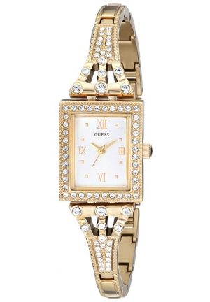 GUESS Women's  Classic Gold-Tone Jewelry Inspired Watch