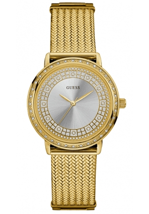 Watch Guess Women Blue Willow Gold plated steel