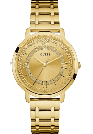 GUESS LADIES' MONTAUK SILVER WATCH