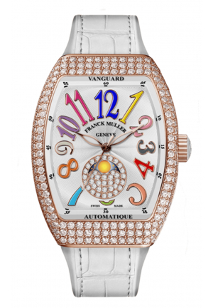 FRANCK MULLER VANGUARD V 32 SC AT FO L D CD 1P COL DRM (BC), 32 X 42MM