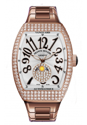 FRANCK MULLER VANGUARD V 32 SC AT FO L D CD 1P (RS) 5N O, 32 X 42MM