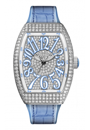FRANCK MULLER LADIES COLLECTION VANGUARD V 32 SC FO D CD