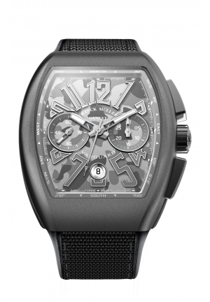 CAMOUFLAGE GREY MEN'S WATCH V 45 CC DT CAMOU, 44 X 53.7MM