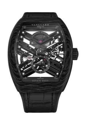 VANGUARD™ 7 DAYS POWER RESERVE SKELETON V 45 S6 SQT, 44 Х 53,7MM