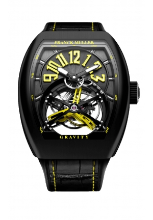 GRAVITY MEN'S WATCH V 45 T GR CS BR NR YELLOW, 44 X 53.7MM