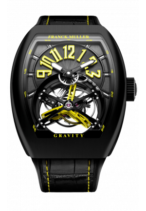 FRANCK MULLER GRAND COMPLICATIONS GRAVITY SKELETON V 45 T GR CS BR NR YELLOW, 44Х53,7MM