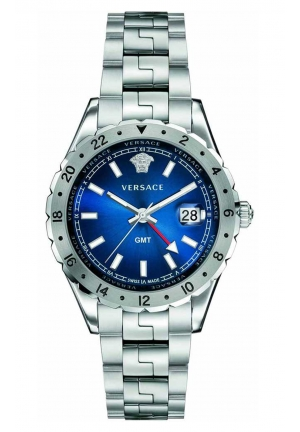 HELLENYIUM GMT ANALOG DISPLAY SWISS QUARTZ V11010015, 42MM