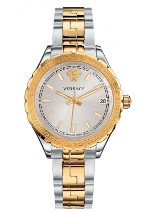 VERSACE HELLENYIUM SWISS QUARTZ STAINLESS STEEL, 35MM