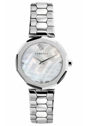 VERSACE IDYIA SILVER STAINLESS STEEL