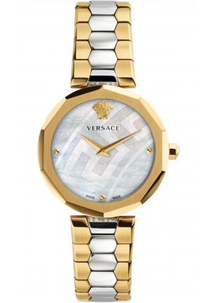 VERSACE WOMEN'S IDYIA SWISS QUARTZ STAINLESS STEEL CASUAL WATCH