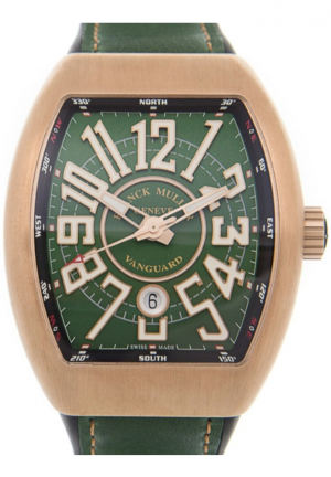 Vanguard Automatic Green Dial Unisex Watch